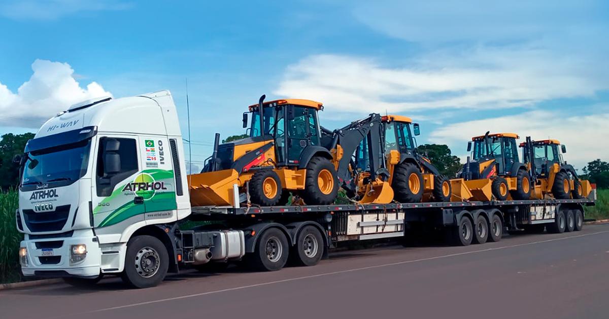 Transporte de materiais impacta diretamente nas obras da construção civil