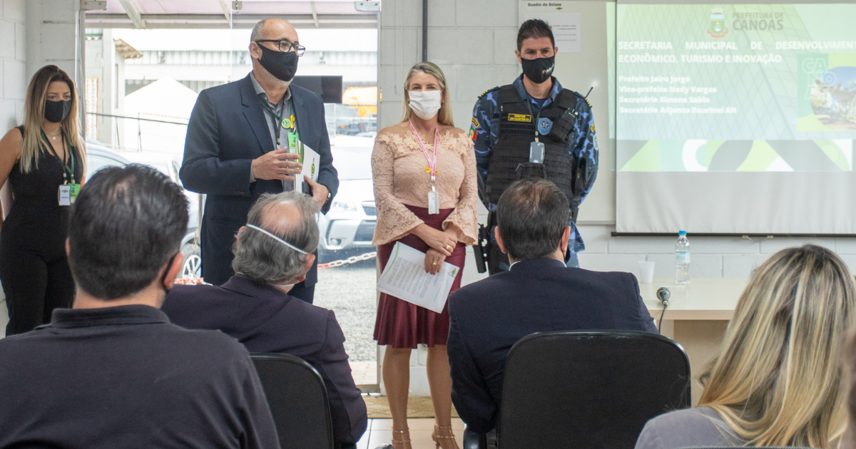 Projeto proporciona integração entre empresários e fomenta desenvolvimento econômico em Canoas